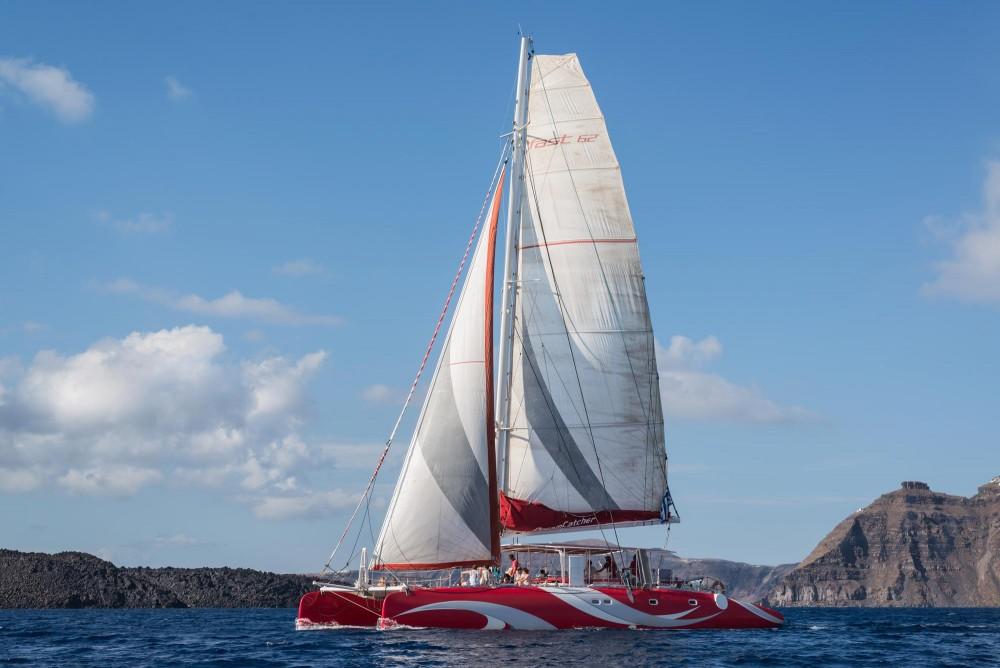 DREAM CATCHER Mesmerizing Dream Catcher Boat Santorini