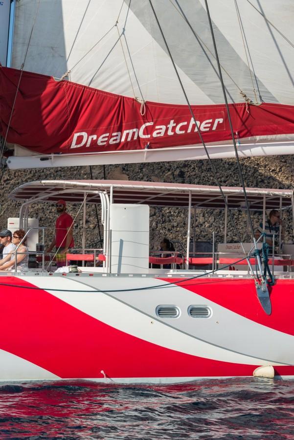 DREAM CATCHER Delectable Dream Catcher Boat Santorini
